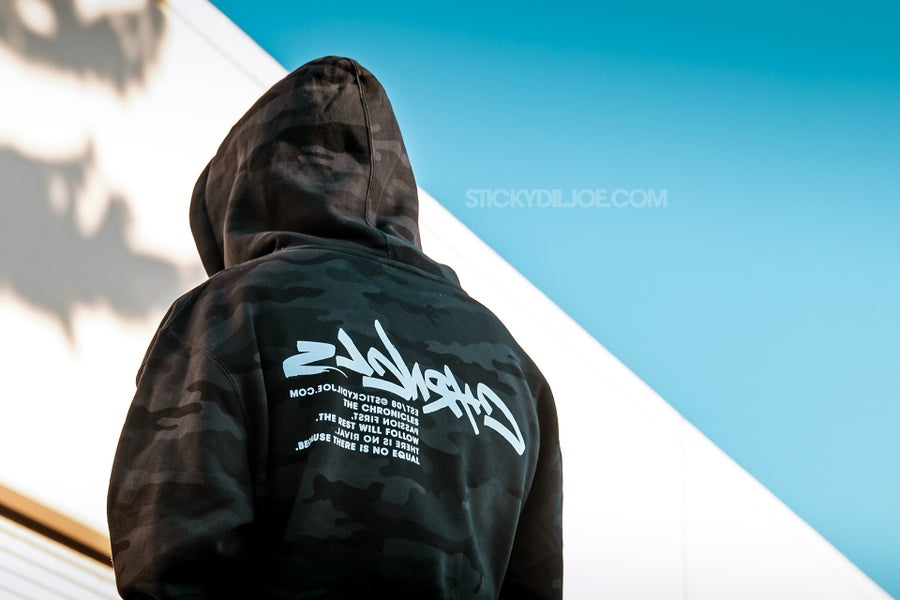 Image of Chronicles Season 1.1 Hoodies (Black Camo)