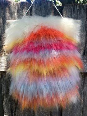 Fluffy Roving Weaving