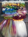Rainbow Roving Weaving