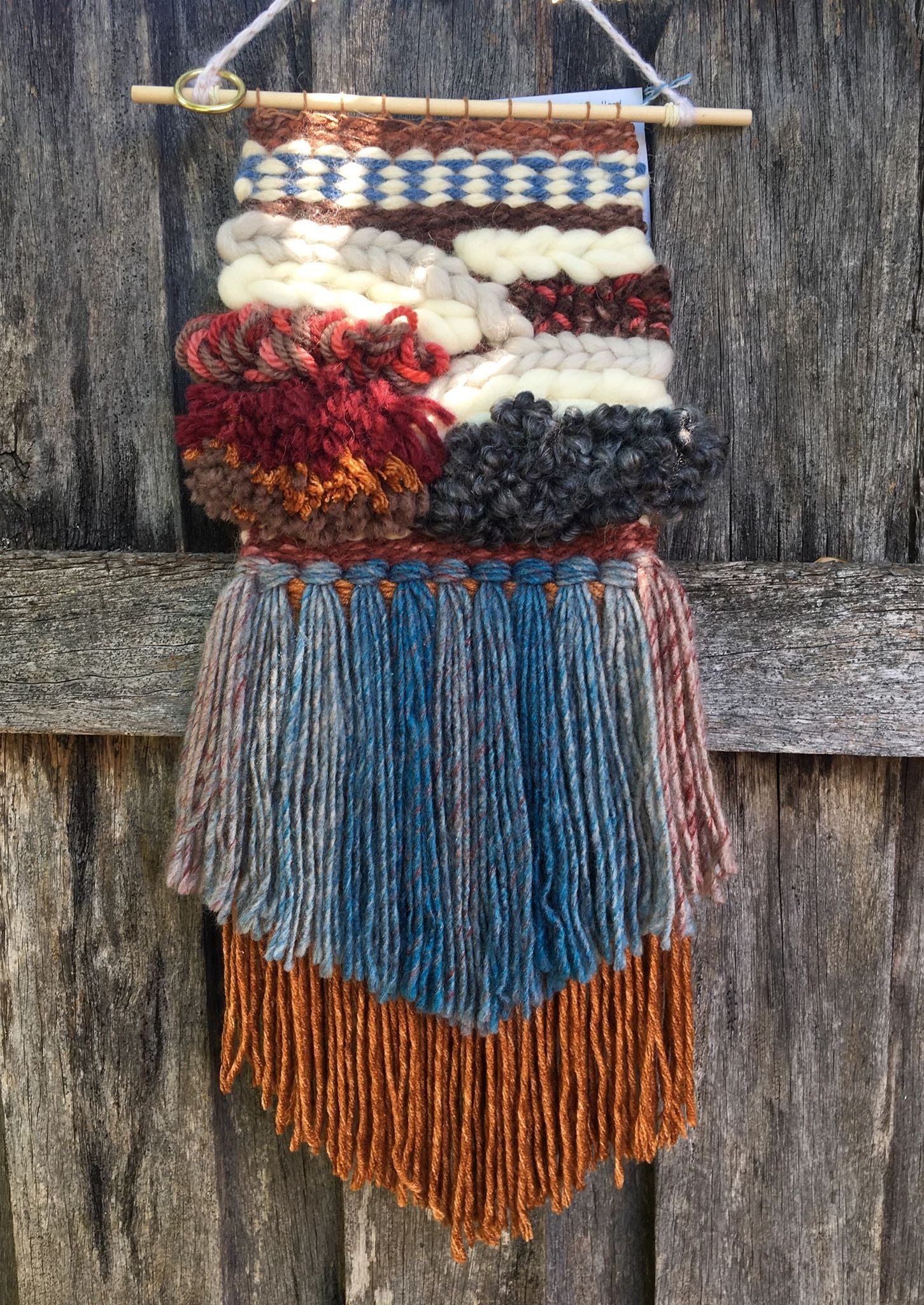 Image of Natural Beauty Woven Wall Hanging