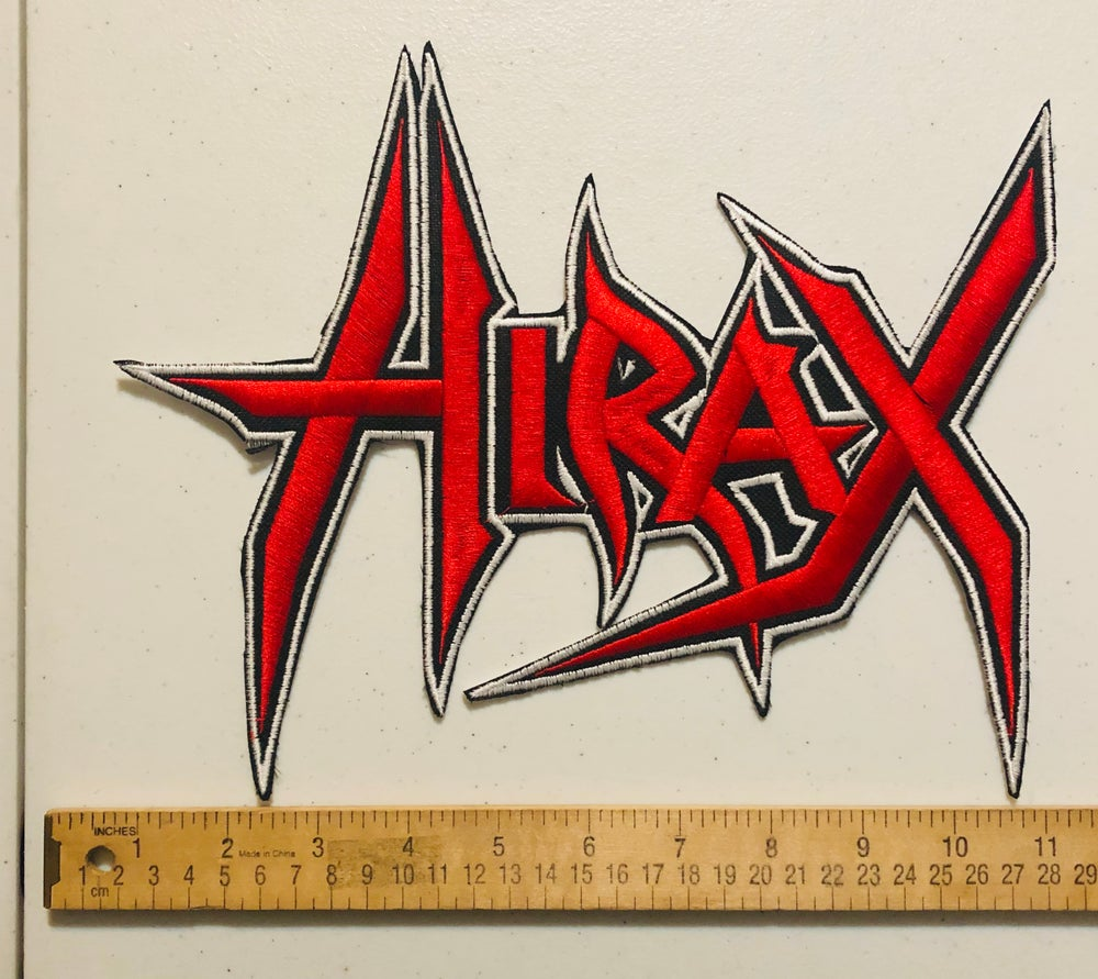 HIRAX logo Large Embroidered Patch