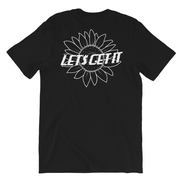 Image of Sunflower T-Shirt (Black)