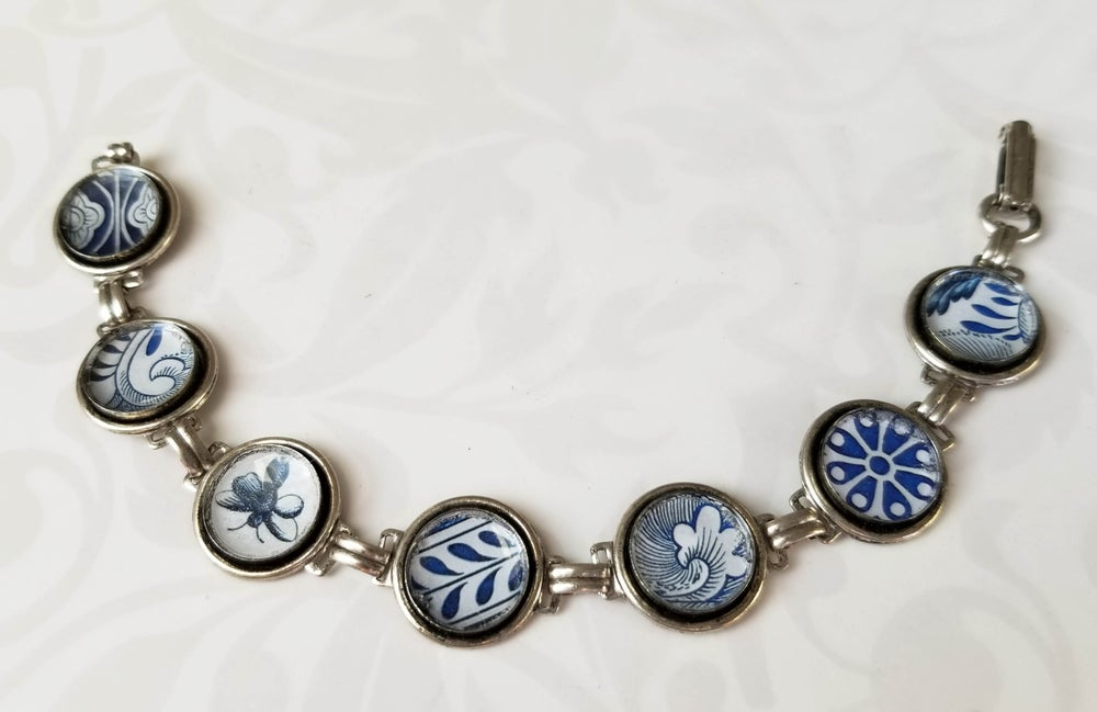 Image of Asian Blue China Bracelet