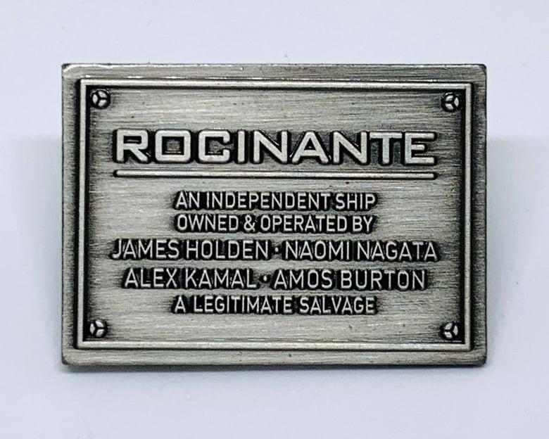 "Image of ""A Legitimate Salvage"" Rocinante Plaque (The Expanse)"