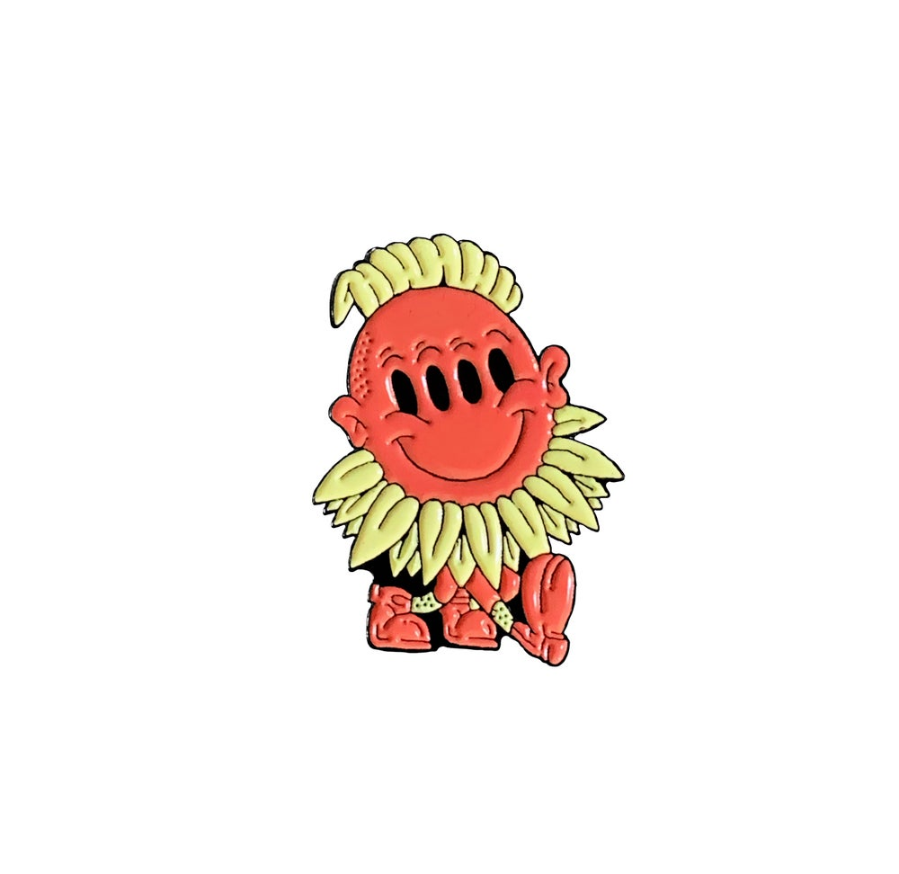 Image of Forest weirdo lapel pin