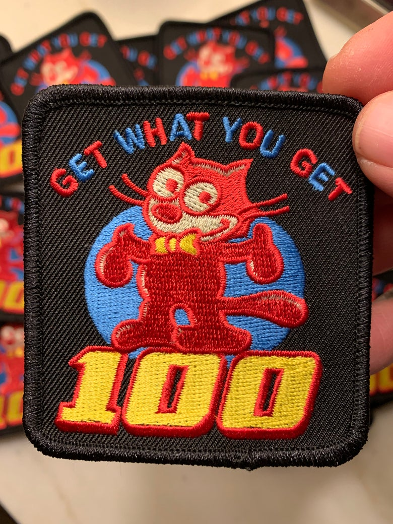 Image of 100 Patch!