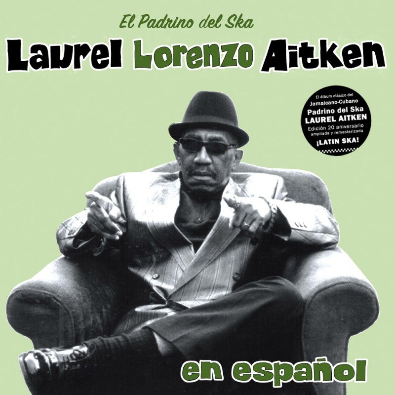 "Image of Laurel Lorenzo Aitken - ""En Español"" (LP) - 20th Anniversary Gatefold Edition // Liquidator Music"
