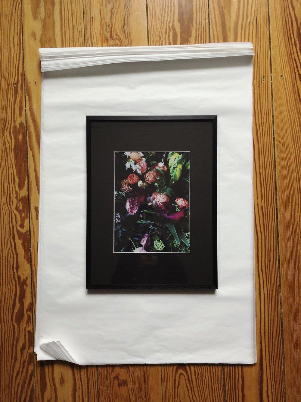 "Image of ""Flowers"" – Print (framed)"