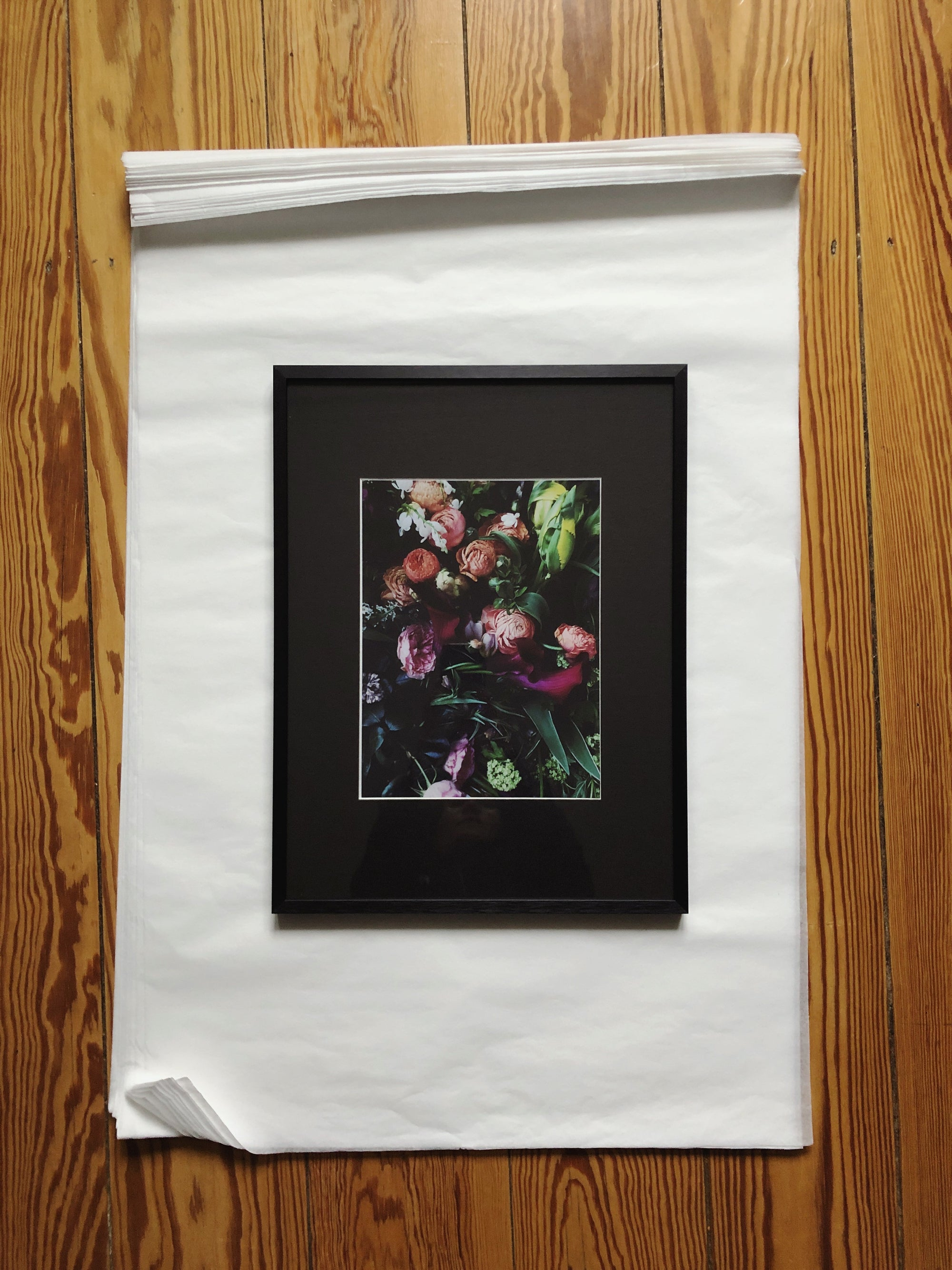 "Image of ""Flowers"" – Print (framed)"