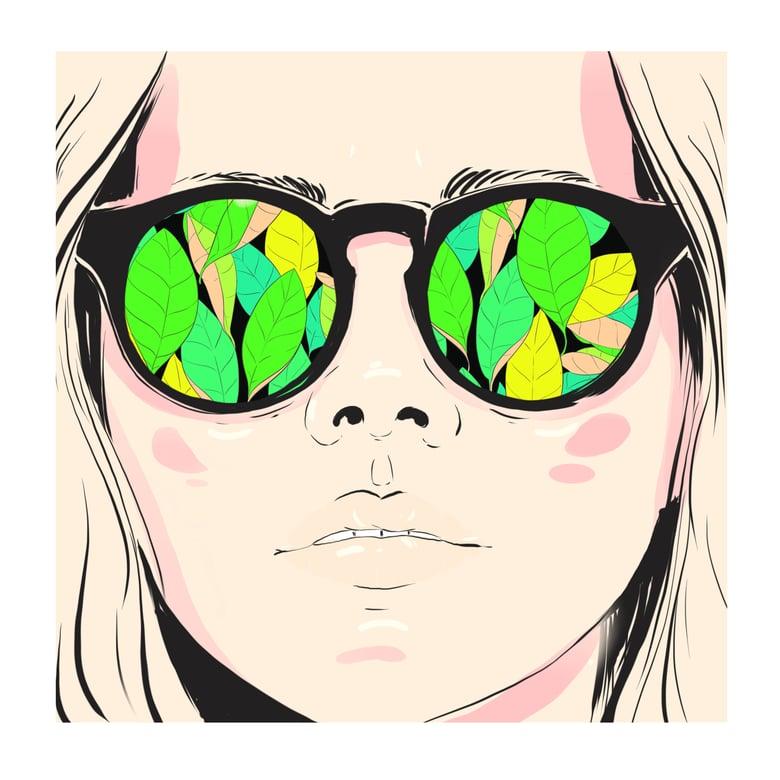 Image of Vert | 20cm X 20cm