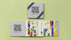 Image of Every letter matters | Cards
