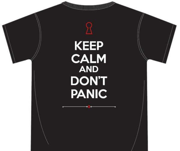 Image of Keep Calm And Don't Panic T-Shirt