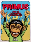 Image of Primus/Gogal Bordello Poster 2012