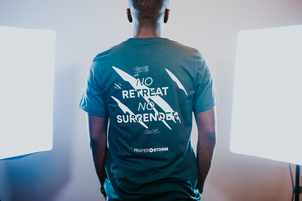 Image of No Retreat No Surrender T-shirt Unisex