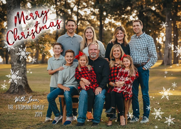 Image of 2019 Stedman Family Christmas Cards