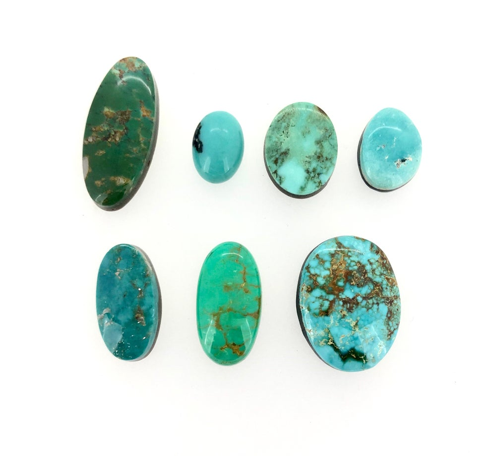 Image of Custom turquoise ring