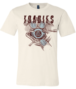 Image of Toadies - eye surgery on off white shirt