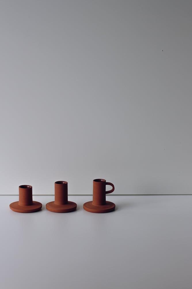 Image of Candleholder Terracotta