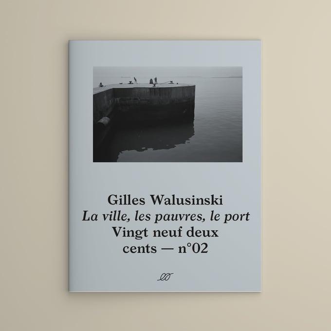 Image of Gilles Walusinski — La ville, les pauvres, le port — Couverture grise