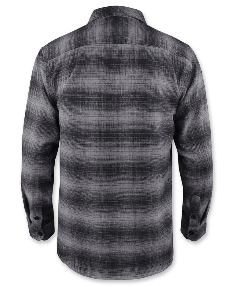 Image of Flannel Grey Long Sleeve Shirt