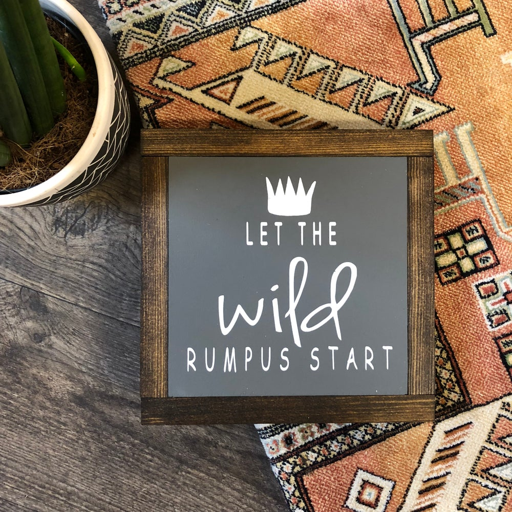 Image of Let the Wild Rumpus Start