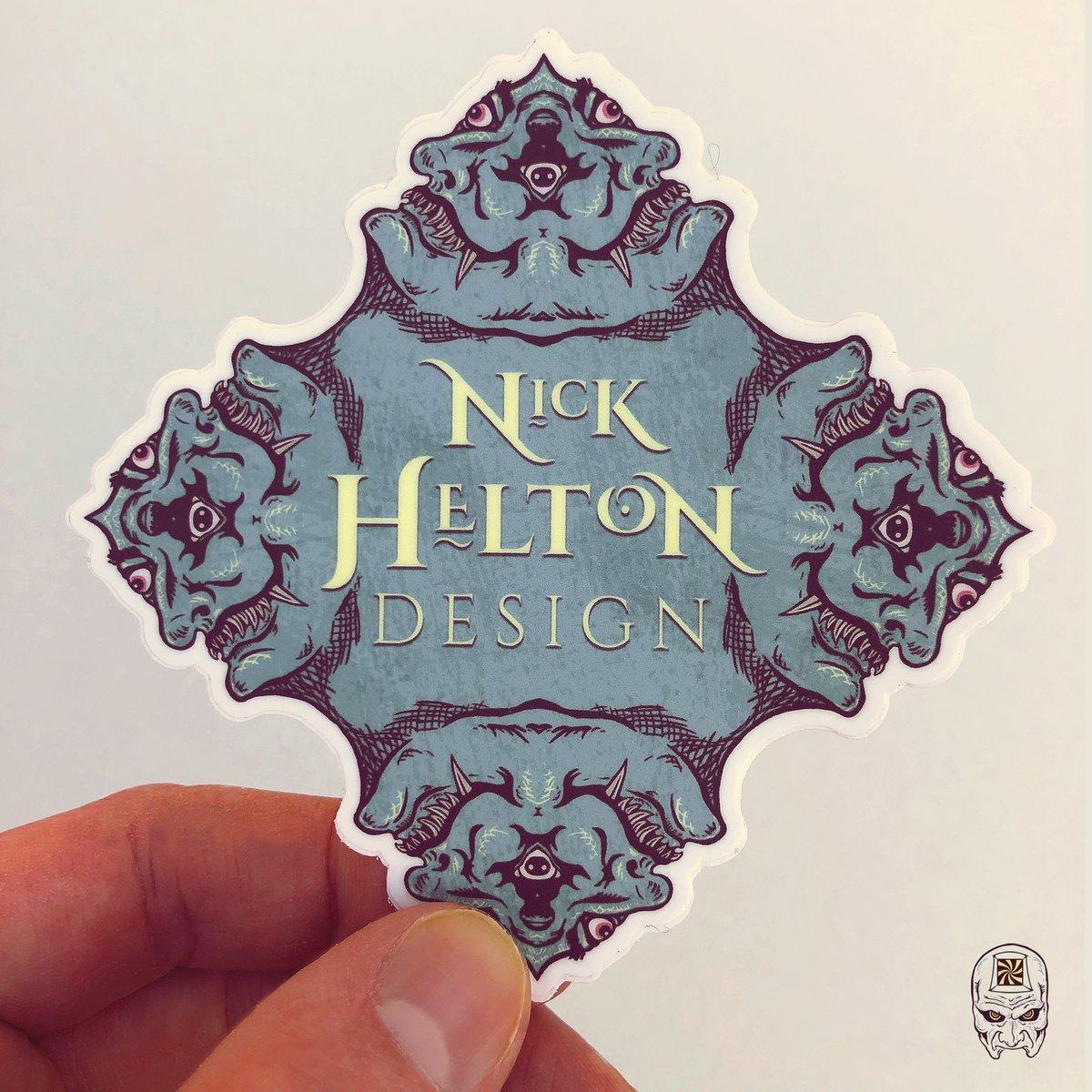 Image of Nick Helton Design Sticker