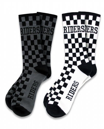 Image of Checked Socks 2 pack