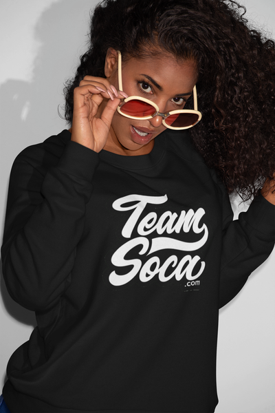Image of Team Soca Varsity Logo - Crewneck Sweatshirt