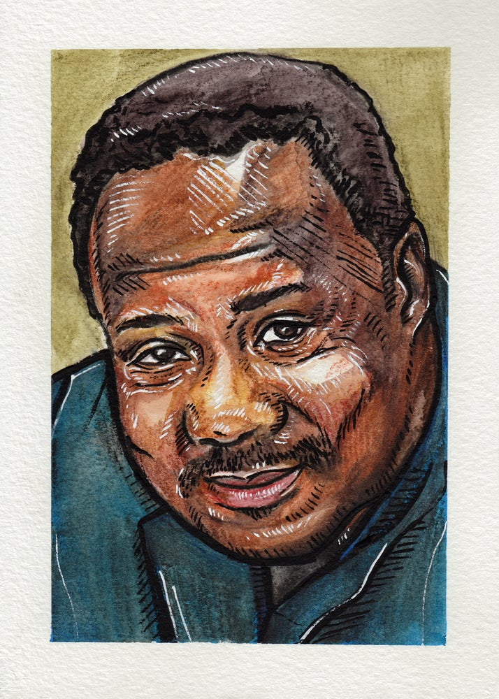 Image of Clay Davis - Original Painting