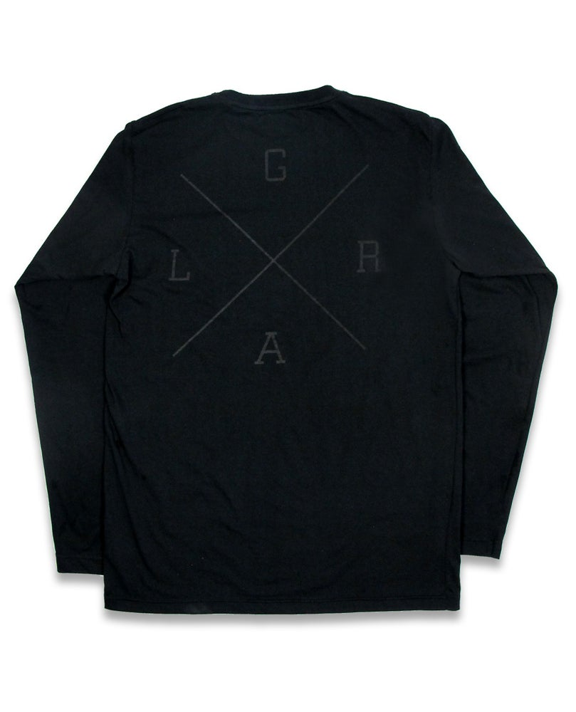 Image of Black Long sleeve Tee