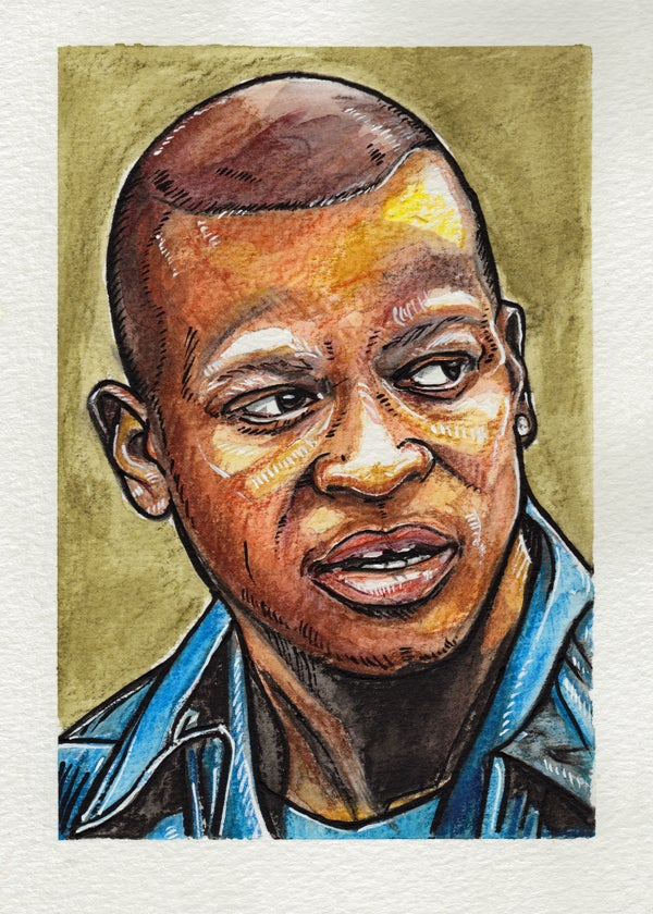 Image of D'Angelo - Original Painting