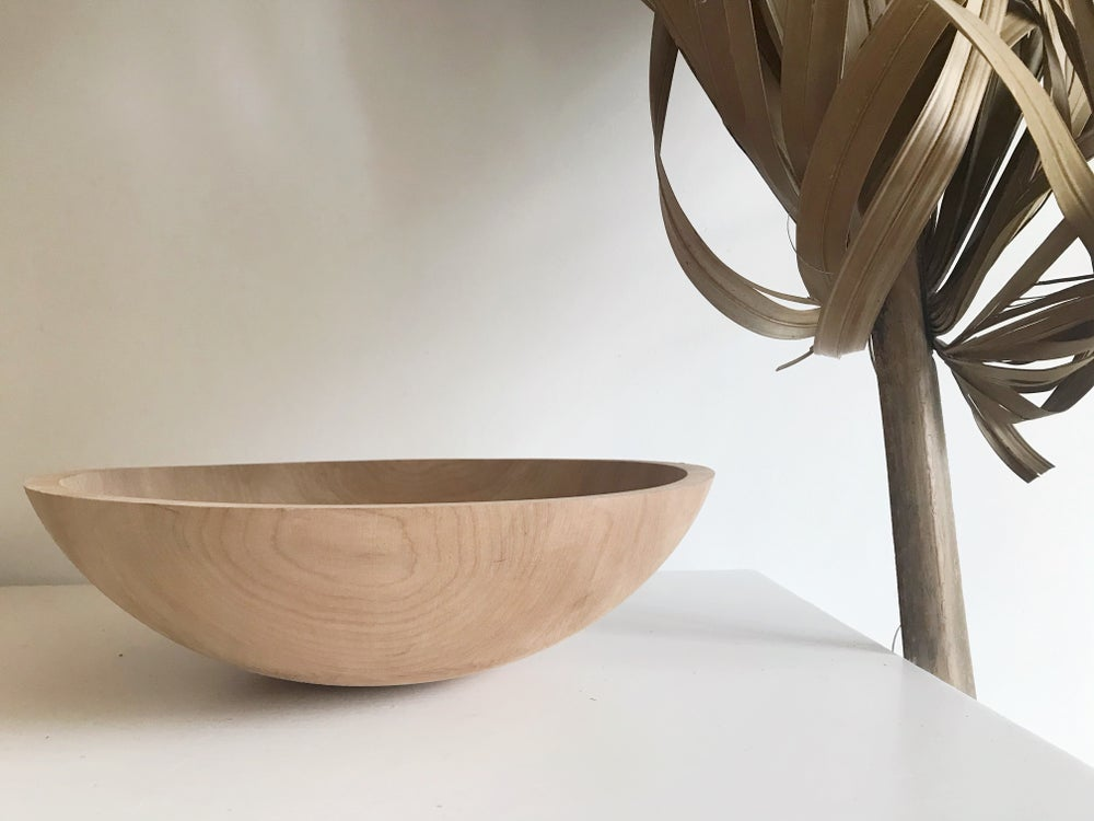 Image of Raw Wood Bowl #124