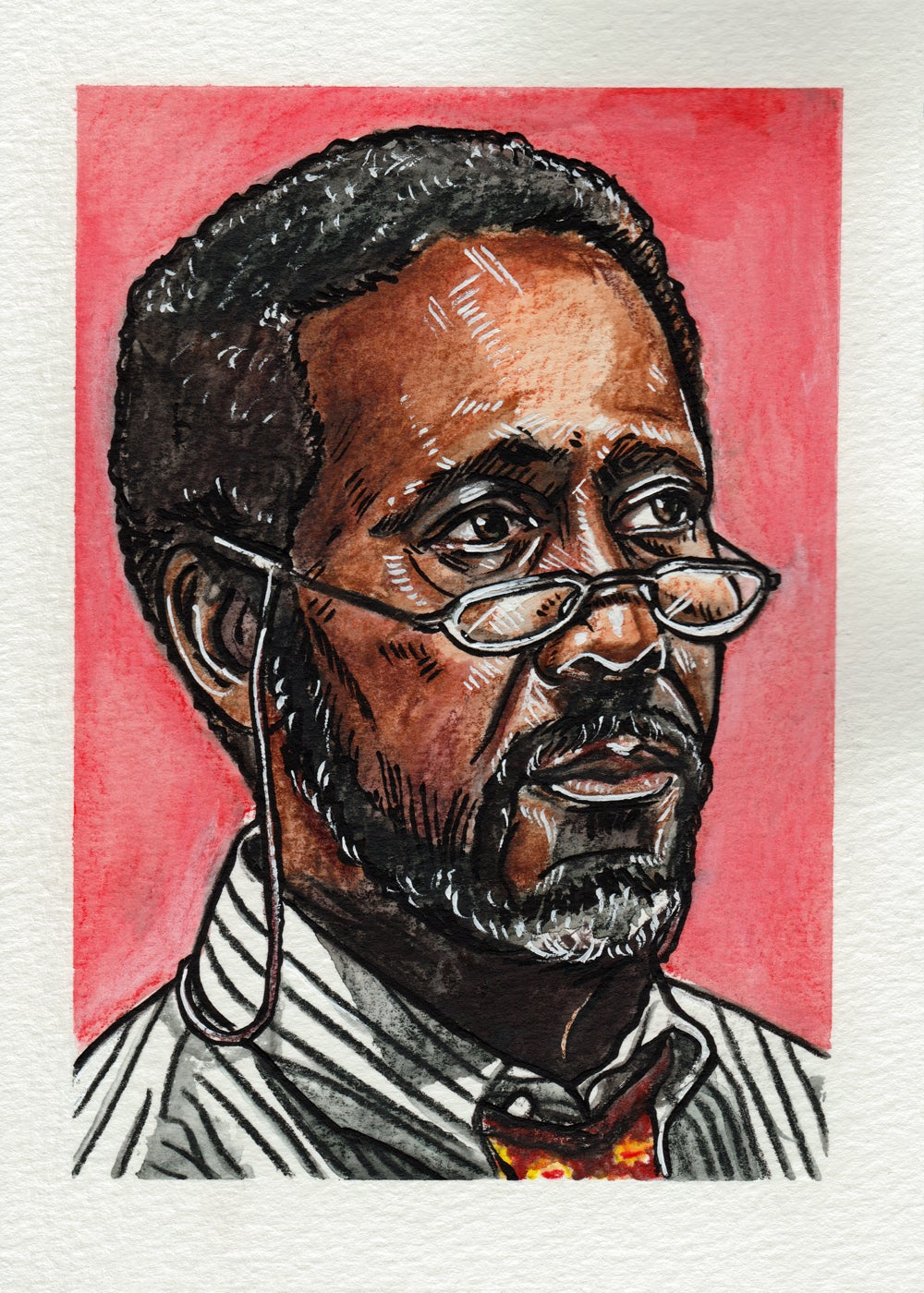 Image of Lester Freamon - Original Painting