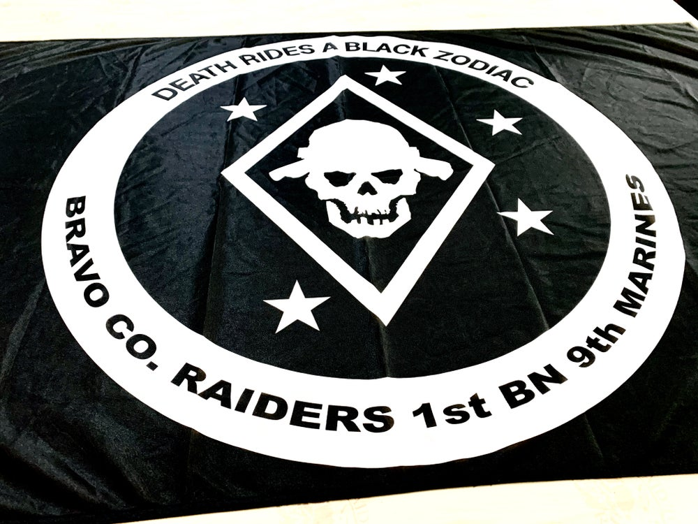 Image of Bravo 1/9 Flag