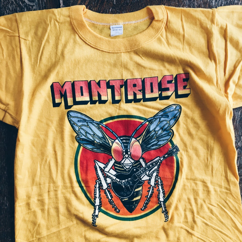 Image of Original Late 70's Montrose Band Tee.