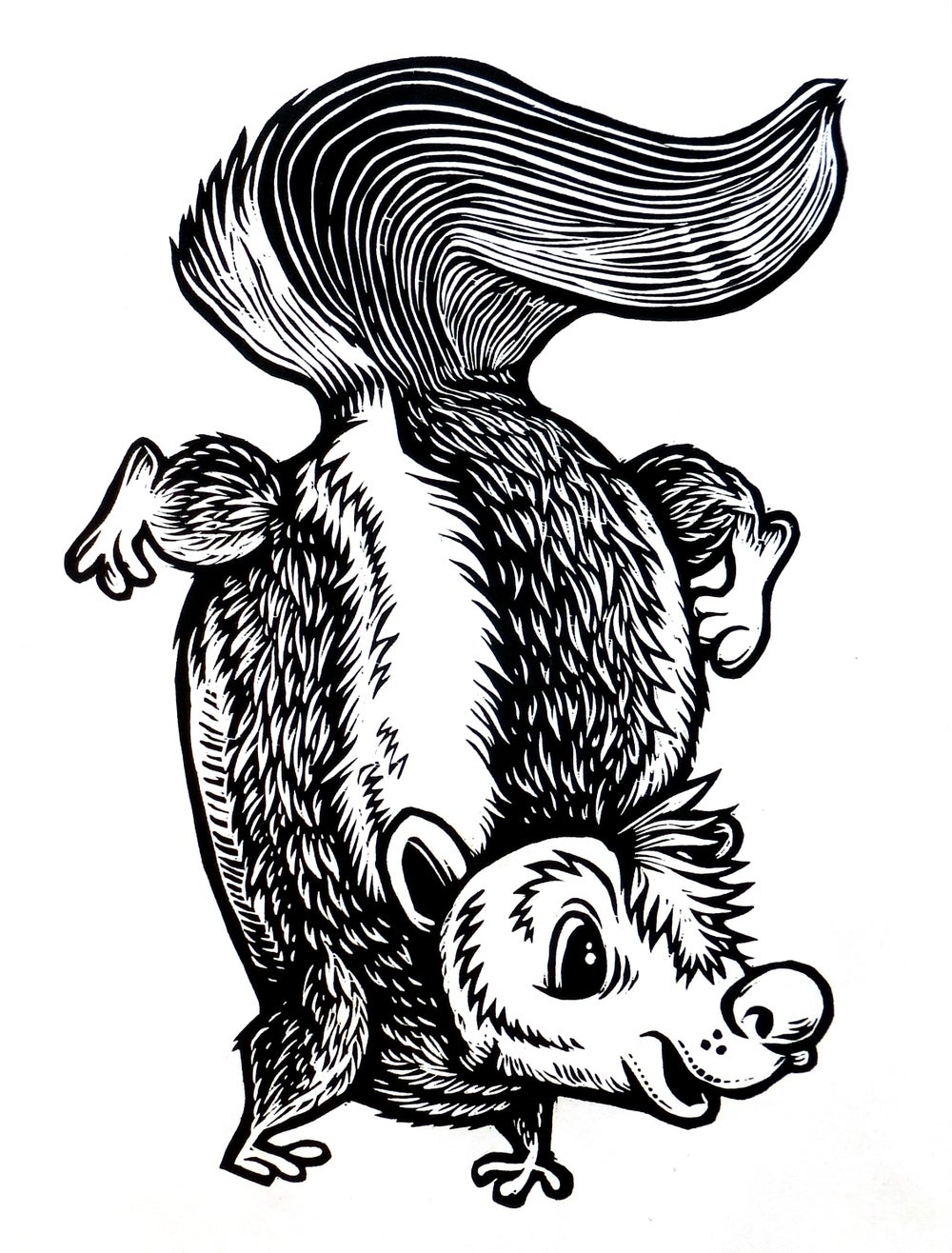 In our general direction Skunk (A1) T-shirt **FREE SHIPPING**