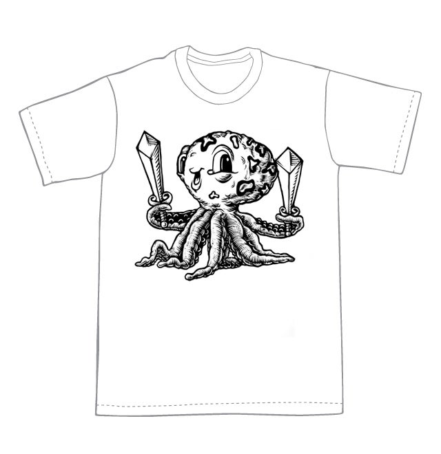 Look what I found Octopus T-shirt  (A2) **FREE SHIPPING**