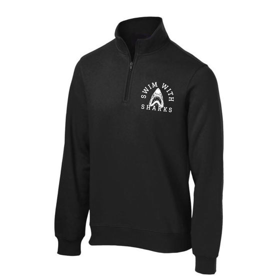 Image of Black Shark Quarter Zip