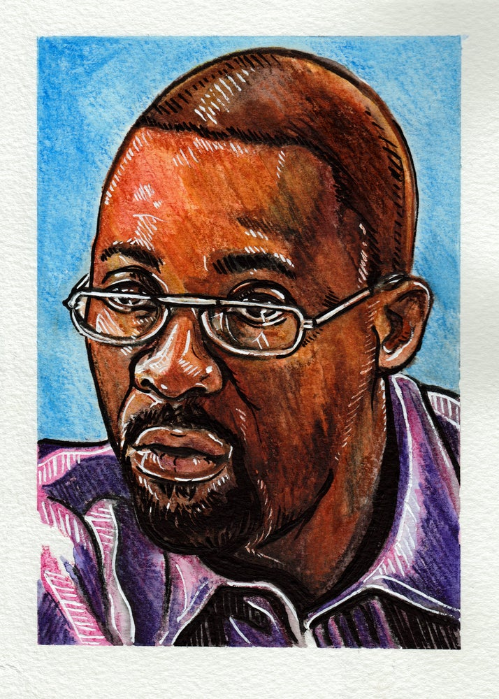 Image of Stringer Bell - Original Artwork