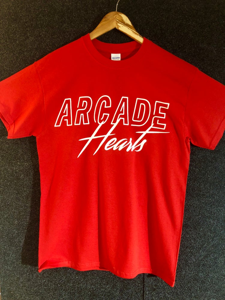 Image of Red Logo Tee
