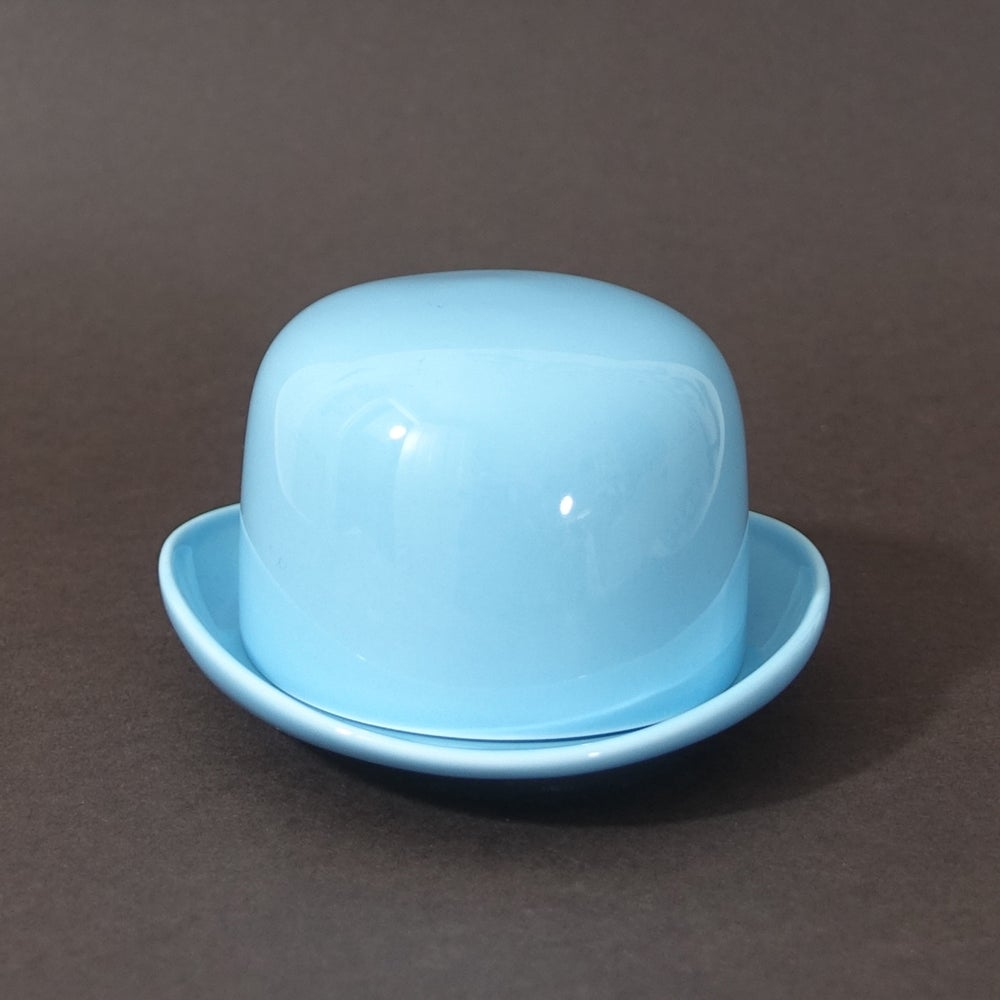 Image of Thomson & Thompson Blue Sugar Bowl