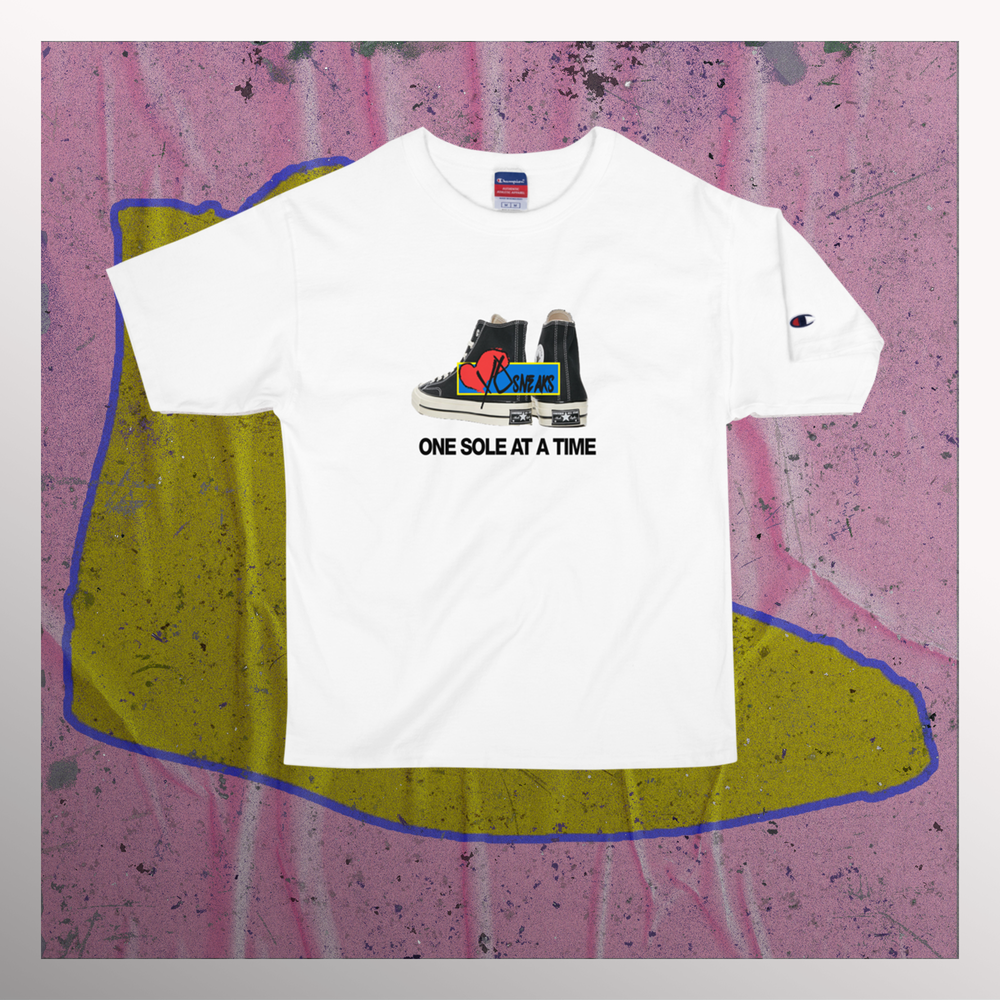 "Image of IHYS One Sole At a Time Print ""Heroes Wear Sneakers"""