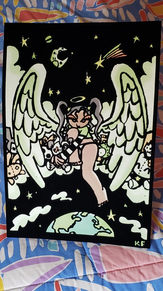 Image of ANGELS + DEVILS Blacklight Posters