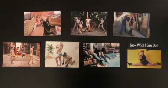 Image of Set of 7 post card prints
