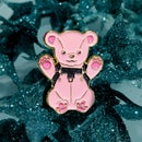Image 1 of Glitter Pin - Leather Bear