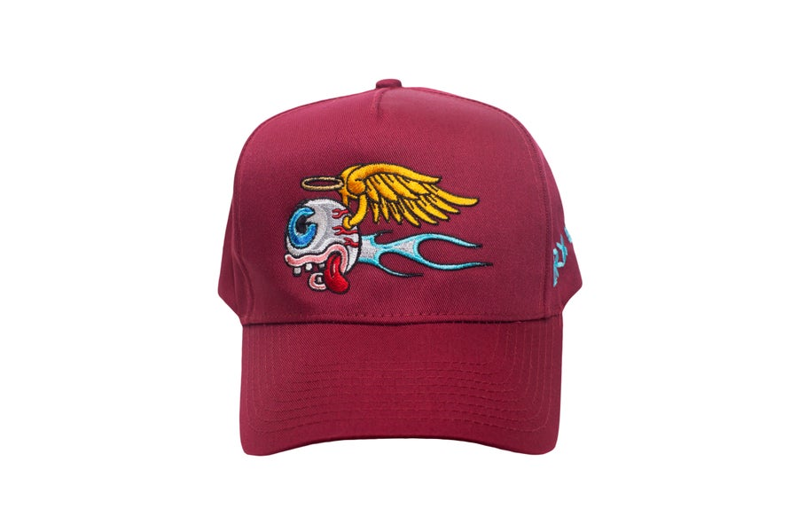 Image of Lazy Eye Trucker Burgundy