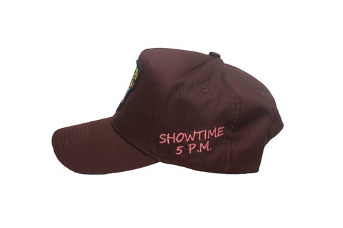 """Image of """"Rodeo"""" Rodeo Tour Brown Trucker Hat"""