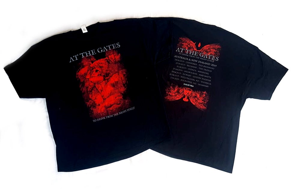 Image of T'SHIRT - At The Gates - Triple Bill Kill: Australian Tour 2019