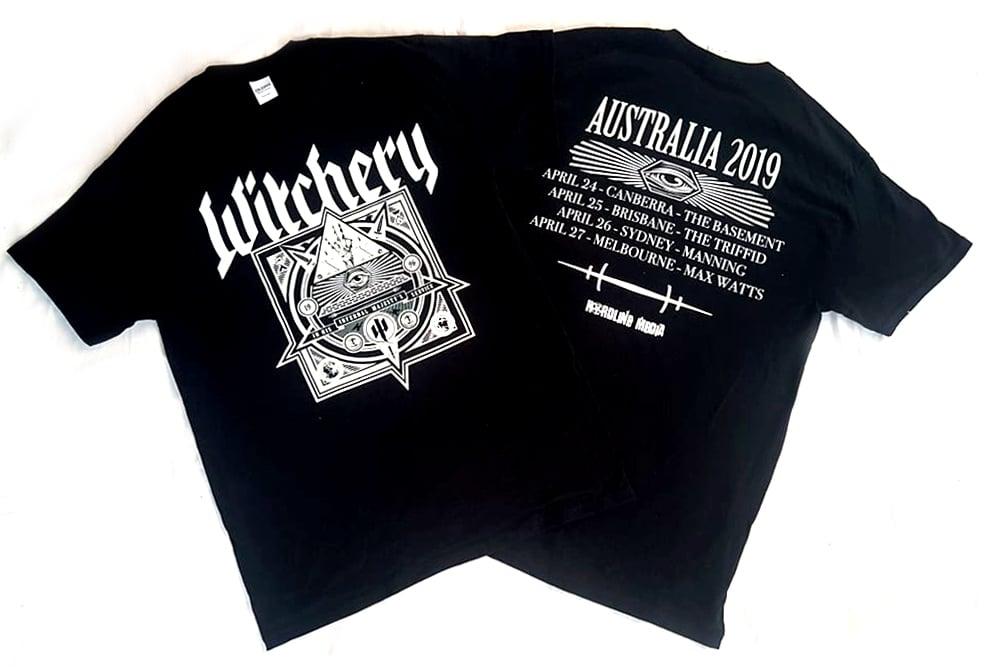 Image of T'SHIRT - Witchery - Triple Bill Kill: Australian Tour 2019