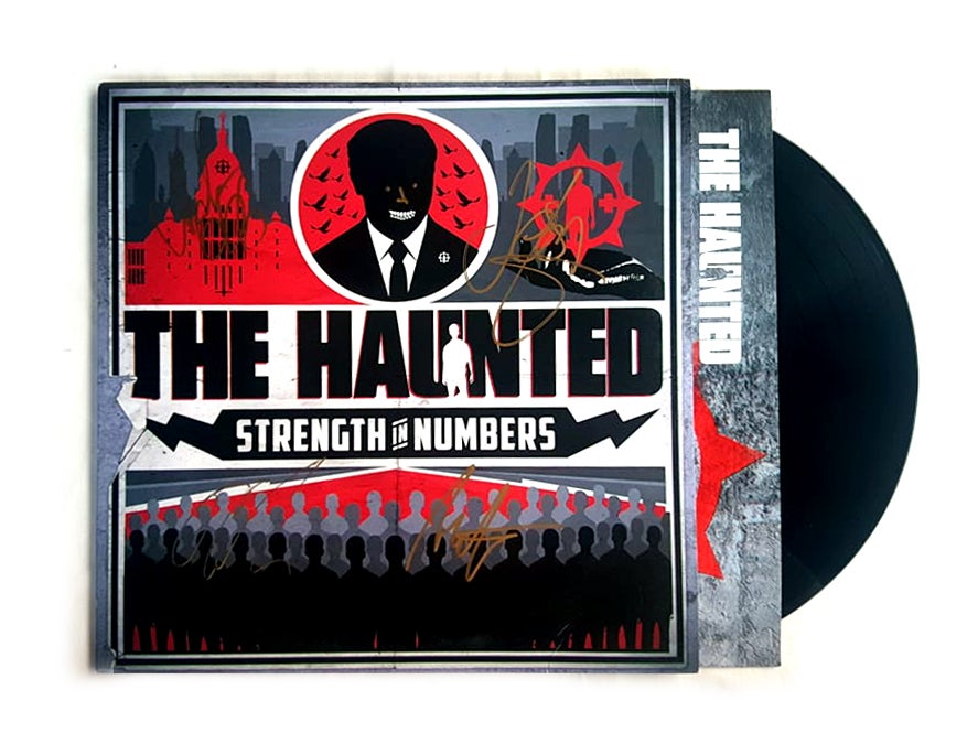 Image of THE HAUNTED - Strength in Numbers - Vinyl LP Autographed